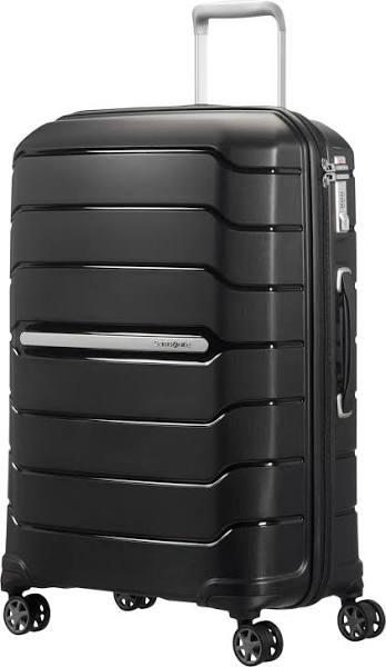 Samsonite Flux hård expanderbar resväska, 4 hjul, 68 cm, Svart