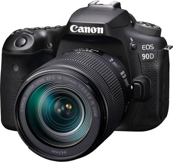 Canon EOS 90D Kit with EF-S 18-135mm f/3.5-5.6 IS USM Lens Digital