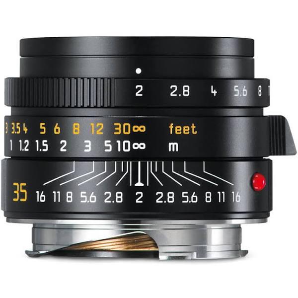 Leica SUMMICRON-M 35mm f/2 ASPH. (Svart) 11673