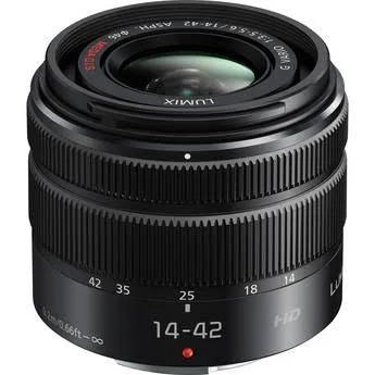Panasonic Lumix G Vario 14-42mm f/3.5-5.6 II ASPH. MEGA O.I.S. Lens, Mount Micro Four Thirds Zoom es, Only, Standard, Focus Autofocus,