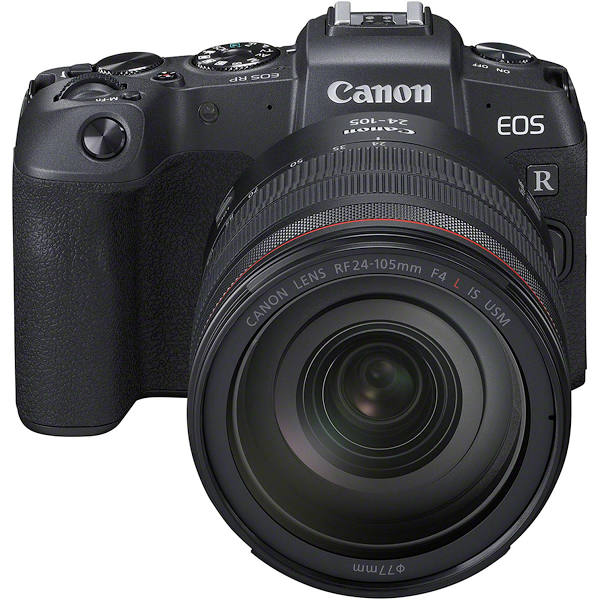 Canon EOS RP + RF 24-105mm f/4.0L IS USM & EF-EOS R Adapter