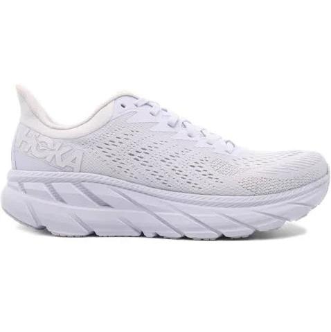 Hoka One One Clifton 7 Running Shoes Men white/white