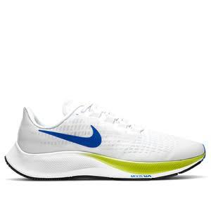 Nike Air Zoom Pegasus 37 'White Cyber' White/Cyber/Black/Racer Blue Marathon Running Shoes/Sneakers BQ9646-102 (Size: EU 40.5)