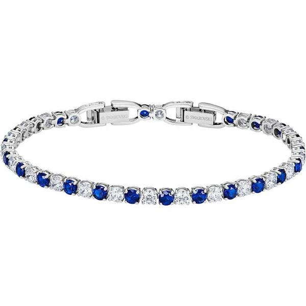 Swarovski dam tennis armband Plated_Gold-5506253