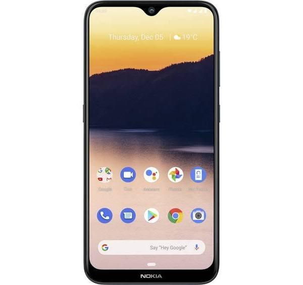"Nokia 2.3 - Android One - pekskärmsmobil - dual-SIM - 4G LTE - 32 GB - microSD slot - GSM - 6.2"" - RAM 2 GB - 13 MP (5 MP främre kamera) - Android - t"