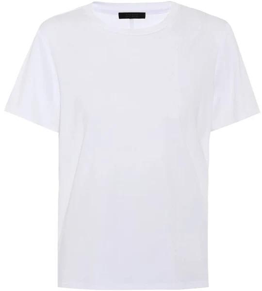 The Row, Wesler cotton T-shirt, Women, White, L, Tops