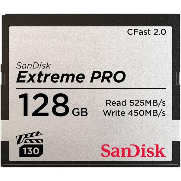 SanDisk Minneskort Extreme Pro CFast 2.0 128GB 525MB/s