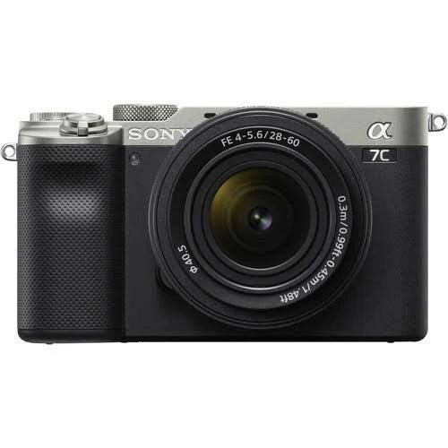 Sony Alpha A7C med FE 28-60mm Silver
