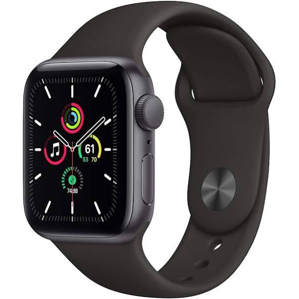 Apple Watch SE (GPS) 40 mm Space Grey/Svart