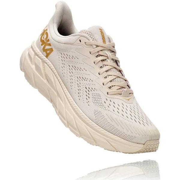 Hoka One One Hoka Clifton 7 Running Shoes - Sand - 12