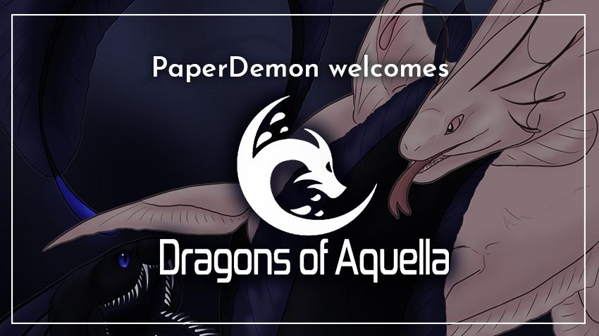 Welcome Dragons of Aquella