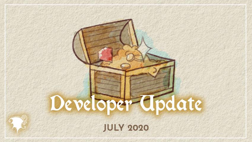 July Development updates