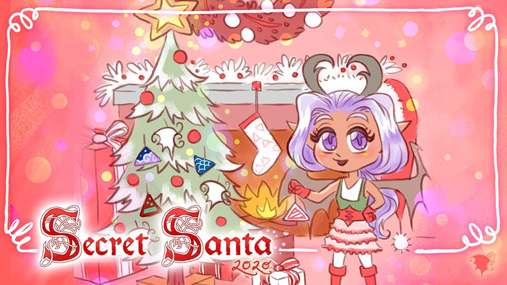 Secret Santa 2020 graphic