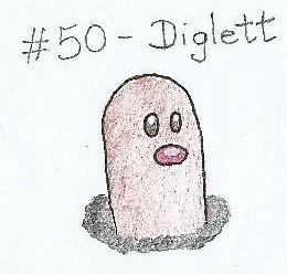 #50 - Diglett