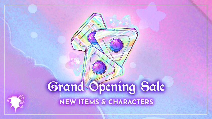 2021 Grand Opening sale