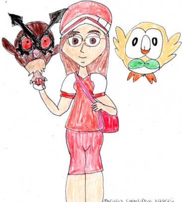 Owl Pokemon Trainer Amanda Holloway