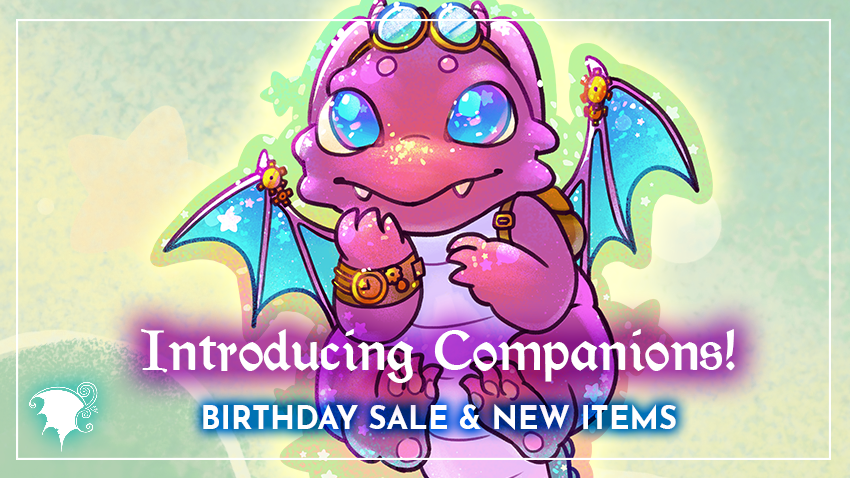 Introducing Companions - Birthday Sale