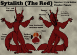 Sytalith [The Red] Ref Sheet