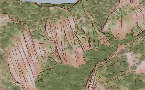 Landscape Studies, Canyon
