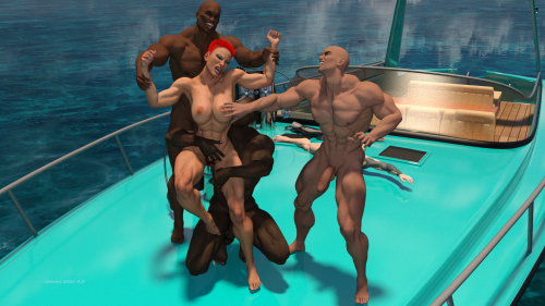 Gang Ravaged by Pirates 12X