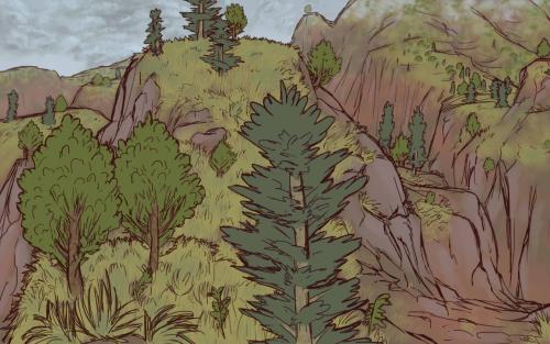 Landscape Study, Highlands
