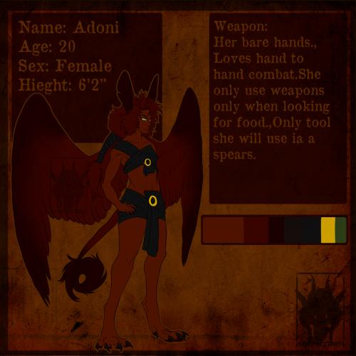 [Dracostryx Rider] - Adoni