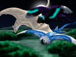 Grassland flight