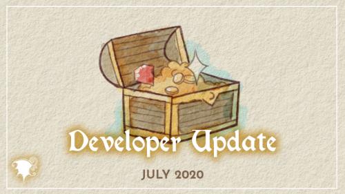 July Developer updates