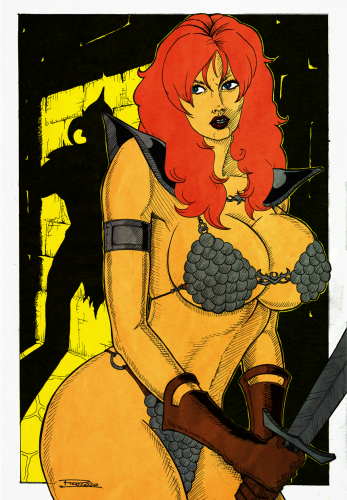 Red Sonja and the adversary
