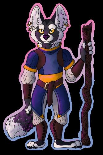 an Adventuring Fox
