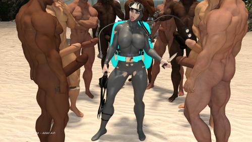 Encircled Frogwoman Prey 4E