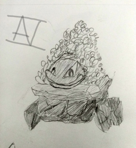 Adorable Carkoal sketch