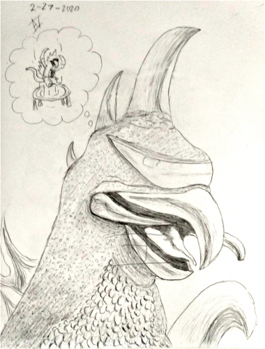 Daydreaming Gigan