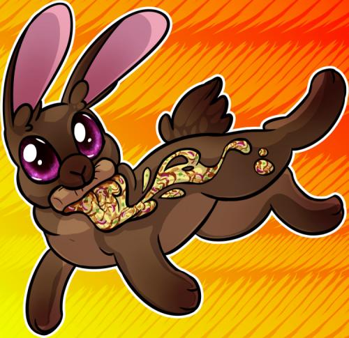 Pizza Rabbit - BBQ Chicken