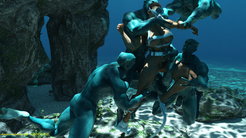 Captured by Mermen 5