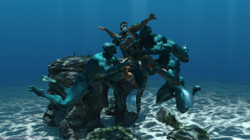 Captured by Mermen 6