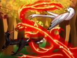 GH prompt 1 - Wisp Battle