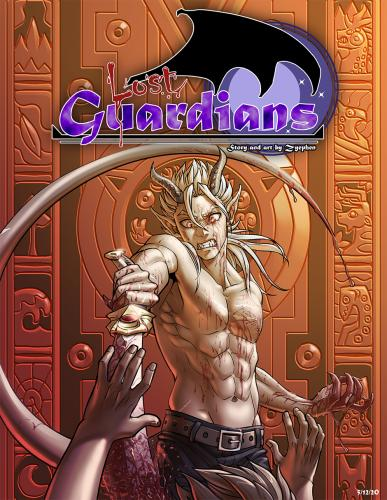 Lost Guardians arc01 cover