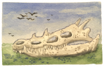 Here were dragons