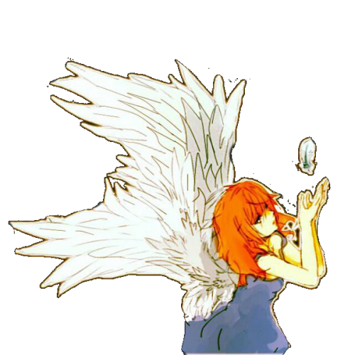 angel girl speedpaint