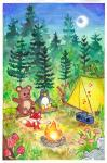 Wilder Family Camping