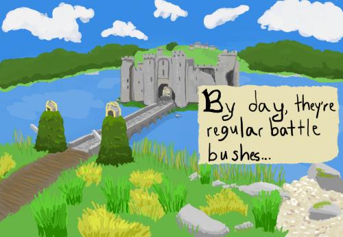Were Battle Bushes: Page 1