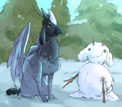 Raven's Snowmime