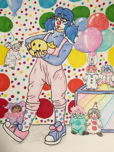 Clown Redraw