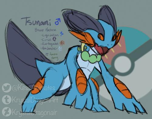 Tsunami the Swampert 🌊