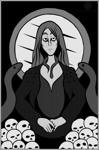Lady of Skulls