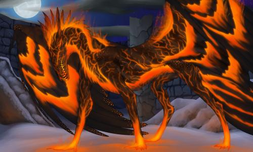 A Fiery Glow