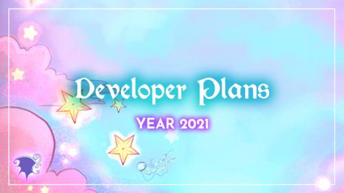 Development plans for 2021