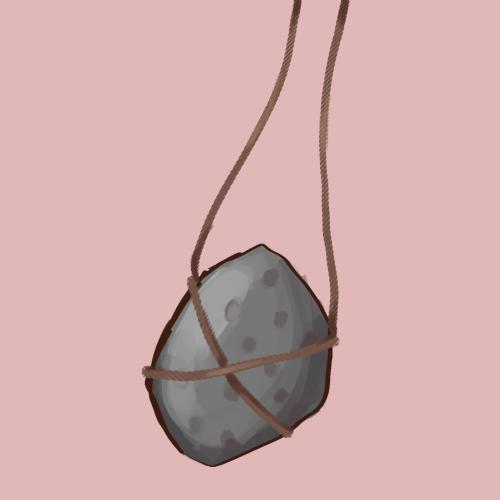 Rock talisman