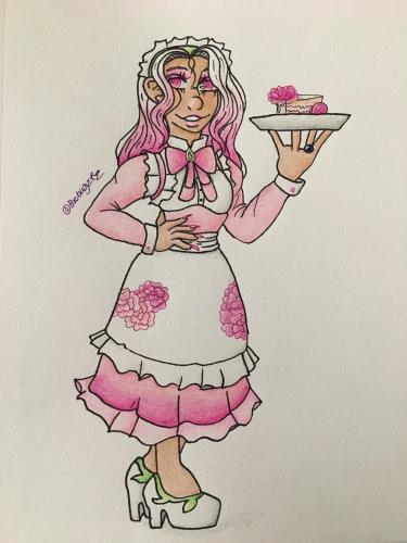 Wedding Cake Maid